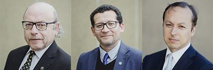 Dr. Medina, Rubilar, Gutierrez